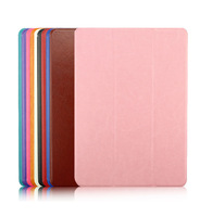3 Fold Stand PU leather case cover For iPad Air Stand Tablet Leather Cover For iPad 5 i pad air Case - Free Shipping