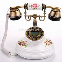 Telephone Home Wood Telephone Decorative Antique Telephone