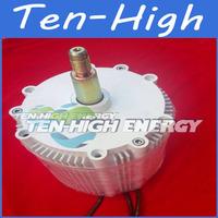 Freeshipping! Upgraded version! 600W, 100% real 740RPM  wind alternator/wind generator motor,permanent magnet alternator