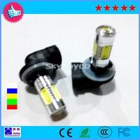 Free Shipping!H27 880 881 7.5W smd Chip LED Fog Light, 7.5W Fog Light With Clean Lens 880/881/H27 7.5W Fog Light  universal