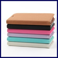 Galaxi S5 soft feel PU leather wallet flip cover for Samsung galaxy S5 S V 5 I9600 mobile phone bags cases with card holder