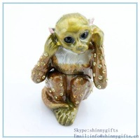 Monkey shape decorative trinket box  for  business gifts SCJ633-3