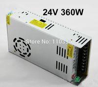 ac 110v 220v to dc 24v power supply,output 24v 15a 360w switching power supply, power supply led light