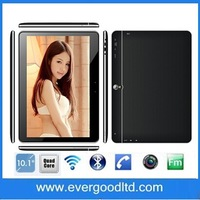 Newest 10inch MTK8382 IPS 1280*800 Quad core 1.3G android 4.2 tablet pc 3G GPS/Bluetooth/FM/dual sim card slots
