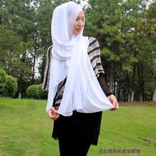 popular black chiffon scarf