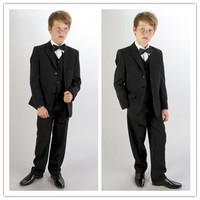 Hot Sale boy wedding suit Groom Wear & Accessories Boy's Attire Groom Tuxedos