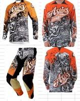 Race sports Clothing Jerseys set Motocross motorcycle jersey sets Cycling T-shirt racing shirt suit riding off-road pants AERPK