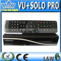 5pcs/lot VU Solo Pro Satellite Receiver Support OpenPLi Blackhole support Youtube IPTV DVB-S2 free shipping
