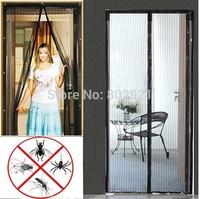 New Hands-Free Magic Mesh Screen Door Magnetic Anti Mosquito Bug Doors Curtain