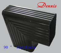 Cailv water system  Roof drainage  Eaves gutter  Rain gutters  Gutters  Metal Gutter  90 degrees scoliosis