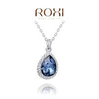 2014 Promotion Sale Gem Jewelry Fashion New Arrival, Genuine Austrian Crystal,fashion Party Necklaces,chrismas/birthday Gift