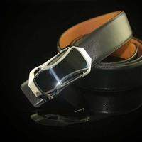 2014 New Novelty Car Buckle Men Belt Genuine Leather Smooth Buckle Male Belt For Men Design Brand Sports Freeshipping