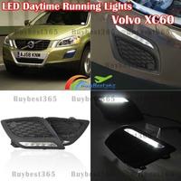 2x Car-Specific White DRL LED Daytime Driving Running Light Fog Lamp Volvo XC60 2011 2012 2013