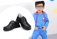 Genuine Leather Boy Shoe Good Quality Rubber Bottome Anti-skidding