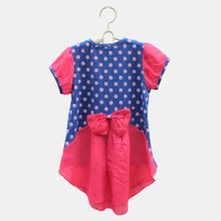 2014 fashion design girl t shirt for children free shipping