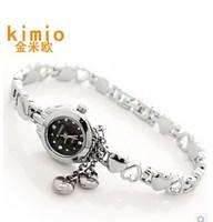KIMIO quartz watch South Korean version of the retro fashion diamond watch bracelet watch jelly female student Wristwatches