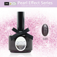 GDCOCO 2014 New Cosmetics Paint with Glitter Distributor Acrylic UV LED For long lasting 14ml Private Gel Nail Polish #30127-020