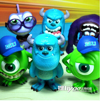 Free shipping Best selling The Movie Monsters  Monsters University action figure set (7 Pieces/set)