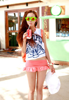 fashion women 2014 t-shirt summer new Harajuku style sexy beach tiger boyfriend pullover vest Tide brand t shirt crop top clothi