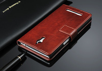 2014 New arrival! With Stand Holder Luxury flip leather case For oppo find 7 x9007 +Card Slot Free shipping