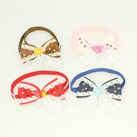 Armi store Handmade Beauty Pattern Ribbon Dog Tie 31001 Pet Collars Bows Wholesale.