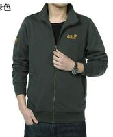 HOT Free shipping South Korean Men's Hoodies Jacket  fashion sweater 2 color Size: M-XXL Sports jacket