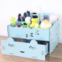 Diy fashion princess wool jewelry box large desktop storage box m09b
