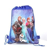 Free shipping hot sale fairy tail frozen party bags backpacks children's school bags kids' shopping bags present