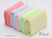 200 PCS 100% Bamboo Kids Face Towels Children Lovely Kerchief Baby Pinafore Saliva Towel Wipe Handkerchief 26*26cm 25G 5 Colors