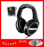 Hot Sell High Quality HD448 Headphones Black 448 DJ Headphones Dropship Free Shipping