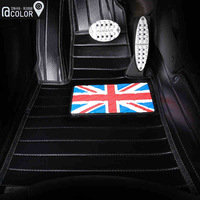 2014 New Fashion  MINI cooper/countryman/clubman/one Car Floor Mat special use women mat color full set Free Shipping Hot