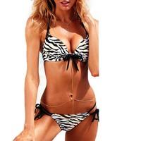 HOTSEXY Women Bikini Set Push-up Padded Bra Swimsuit Bathing Suit Swimwear