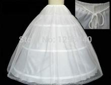 venta caliente 2014 50% fuera3 bolas aro completo ósea crinolina vestido de boda enaguas deslizarse nueva falda sexy(China (Mainland))