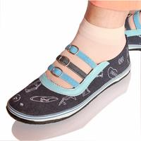 Free Shipping Beijing quinquagenarian low canvas shoes female slip-resistant dance shoes