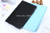 Original 10.1'' Book Style Lichi Grain Folding PU Leather Case For Lenovo A7600 Tablet PC, Four Color Options, Free Shipping