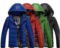 Explosive new men's lightweight men's glossy waterproof hooded jacket men genuine special tide t029