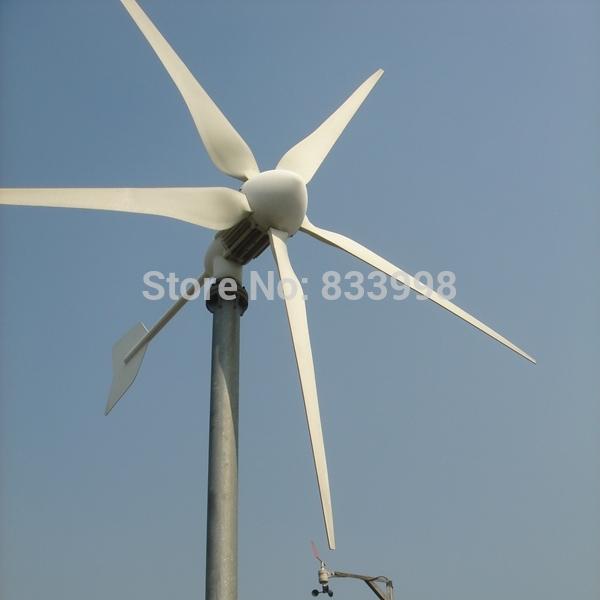 Hye Wind Power System Parts Wind Turbine Generator 3000w