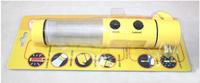 Supernova Sales car emergency hammer 4in1 Emergency Hammer + Car belt cutter +LED flash light +Beacon light