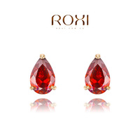 2014 Rushed Women Earings Brinco Gift Classic Genuine Austrian Crystals Fashion Zircon Water Superior quality Hot Sale for Party