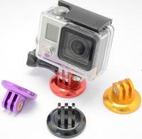 HOT Gopro Mount Adapter Monopod Tripod Camera Camcorder Aluminum Selfie Universal for Go pro HD Hero 3+/3/2/1 Mount Phone Mount