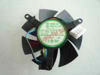 New Original Yong Lin DFB501012H 12v 1.6w 5cm 50*10MM dual ball graphics card cooling fan