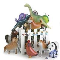 New popular cartoon balloon animals walk aluminum film festival celebration party   wholesale toys for children