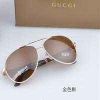 Sunglasses Unisex Sunglasses Male polarizer UV Noble glasses Brand fashion Free Shipping
