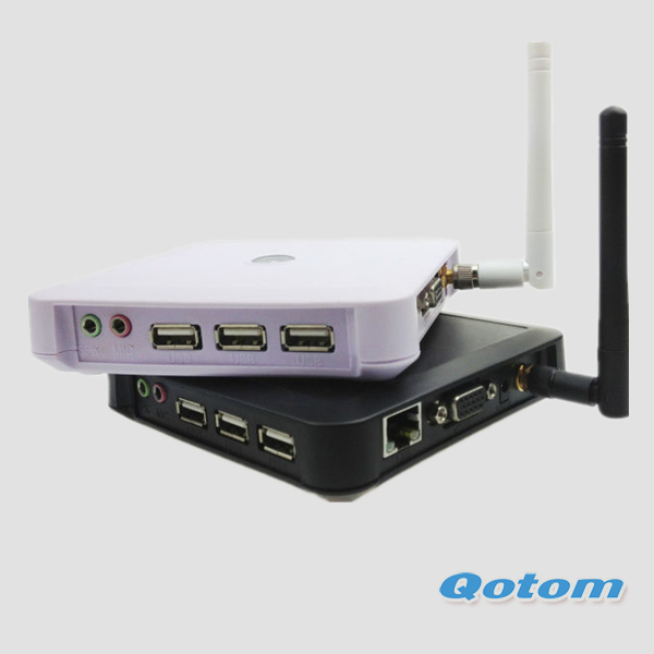 thin client office computer,network pc share,cloud terminal,800M CPU,128M RAM,2G flash,150m wifi,RDP coud terminal,Qtoom-C30sw(China (Mainland))