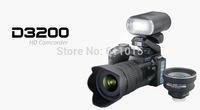 Protax New Polo Protax DSLR D3200 Camera 16MP 3.0 TFT 21X Zoom Telephoto Lens HD Digital Video Digital Camera 5.0 CMOS