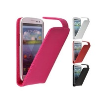 2014 Free Shipping Special  Up Down Open Flip Leather Case Cover For  Philips S308 Phone