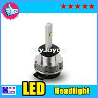Free Shipping 2014 NEW 20W CREE LED Headlight Conversion Car Kit H7 2400LM 12V 24V Aluminum Alloy IP68 6000K