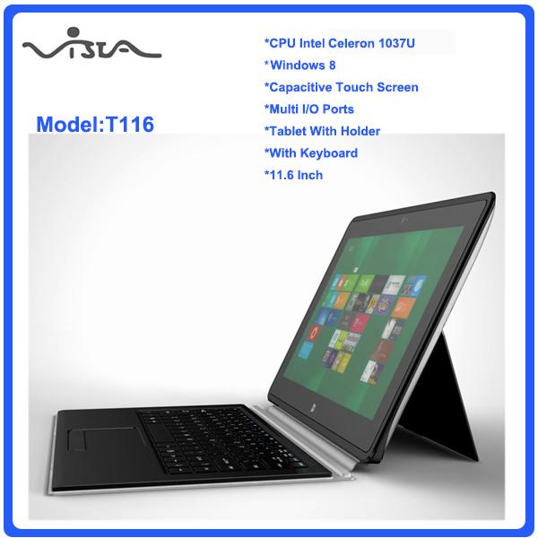 HOT 11.6 inch Dual Core laptop tablet pc 4GB DDR3 64GB win 8 Intel Celeron 1037U Notebook Computer PC ultrabook cheap laptops(China (Mainland))