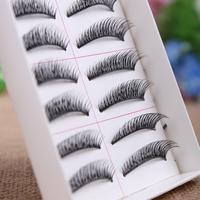 Free shipping,2014 dense and lengthening style false eyelashes Cotton stalk