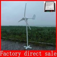 800W Max Wind generator Wind Turbine Generator Kit 24/48V Auto+wind controller With CE ISO9001 Certification